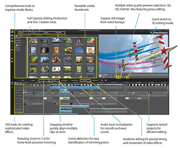 video editing tutorial cyberlink powerdirector
