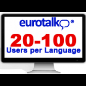 Eurotalk 20-100 Users per language (using them at the same time)