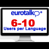Eurotalk 6-10 Users per language (using them at the same time)